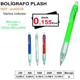 BOLÍGRAFO PLASH