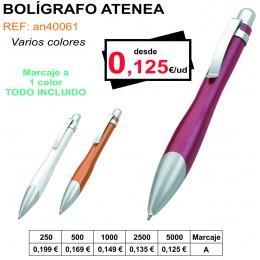 BOLÍGRAFO ATENEA
