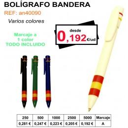 BOLÍGRAFO BANDERA