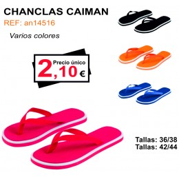 CHANCLAS CAIMÁN