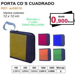 PORTA CD´S CUADRADO