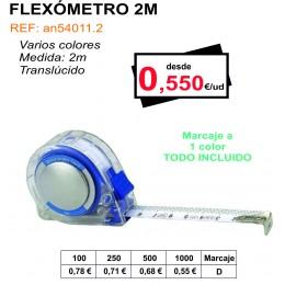 FLEXÓMETRO 2 METROS