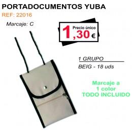 PORTADOCUMENTOS YUBA