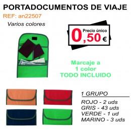 PORTADOCUMENTOS DE VIAJE