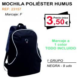 MOCHILA POLIÉSTER HUMUS
