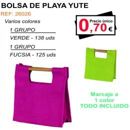 BOLSA DE PLAYA YUTE