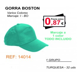 GORRAS BOSTON