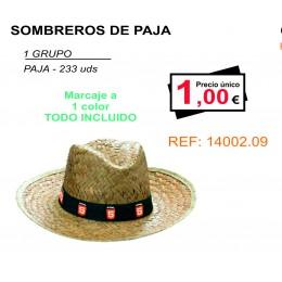 SOMBREROS DE PAJA