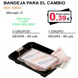 BANDEJA PARA EL CAMBIO