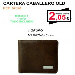 CARTERA CABALLERO OLD