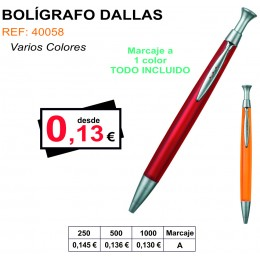 BOLÍGRAFO DALLAS