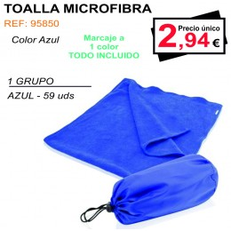 TOALLA MICROFIBRA