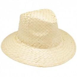 b6d16de796f06 Sombreros Personalizados de Paja Claro con Cinta Interior Ref.  11-0903