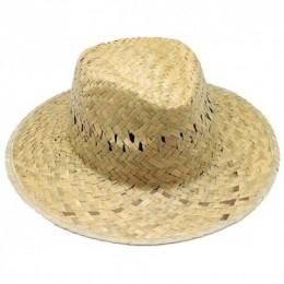 Sombreros Personalizados de Paja Verde con Cinta Interior