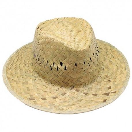 Sombreros Personalizados de Paja Verde con Cinta Interior Ref.  11-0904 bc16a44dbf0