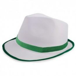 Sombreros Personalizados Premium Blanco Ribete Ref.: 11-0911
