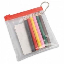 BOLSA PVC LAPICES COLORES Ref.: 11-0918