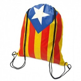 Mochilas de Bolsa Personalizadas 210T Independentista Catalana Ref.: 11-0921