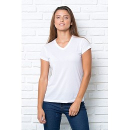 CAMISETA SUBLI CONFORT V-NECK LADY JHK REF.: 01-0100