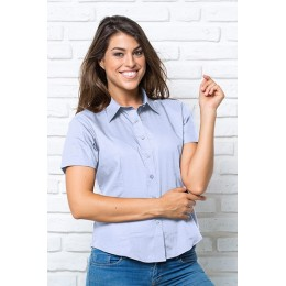 CASUAL & BUSINESS SHIRT LADY SS JHK REF.: 01-0031