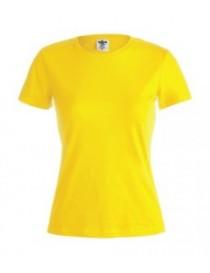 "Camiseta Mujer Color ""KEYA"" 150 GR."