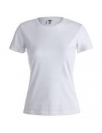"Camiseta Mujer Blanca ""KEYA"" 180 GR."