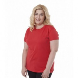 CAMISETA MUJER TALLAS ESPECIALES CURVES T-SHIRT LADY JHK Ref.: 01-0068
