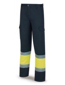 Pantalón alta visibilidad ignífugo y antiestático