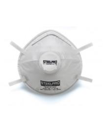 Mascarilla desechable FFP3 con válvula de exhalación.