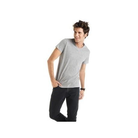 Camisetas Personalizadas Cuello Pico Samoyedo ROLY Ref.: 04-0009